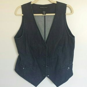 New York and Co. Denim vest